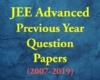 JEE Advanced Previous Year Questions