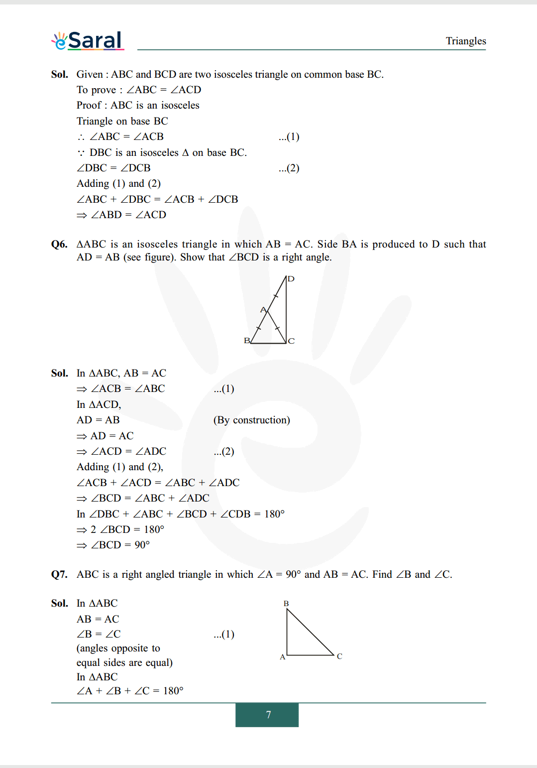 Class 9 maths chapter 7 exercise 7.2 solutions Image 3