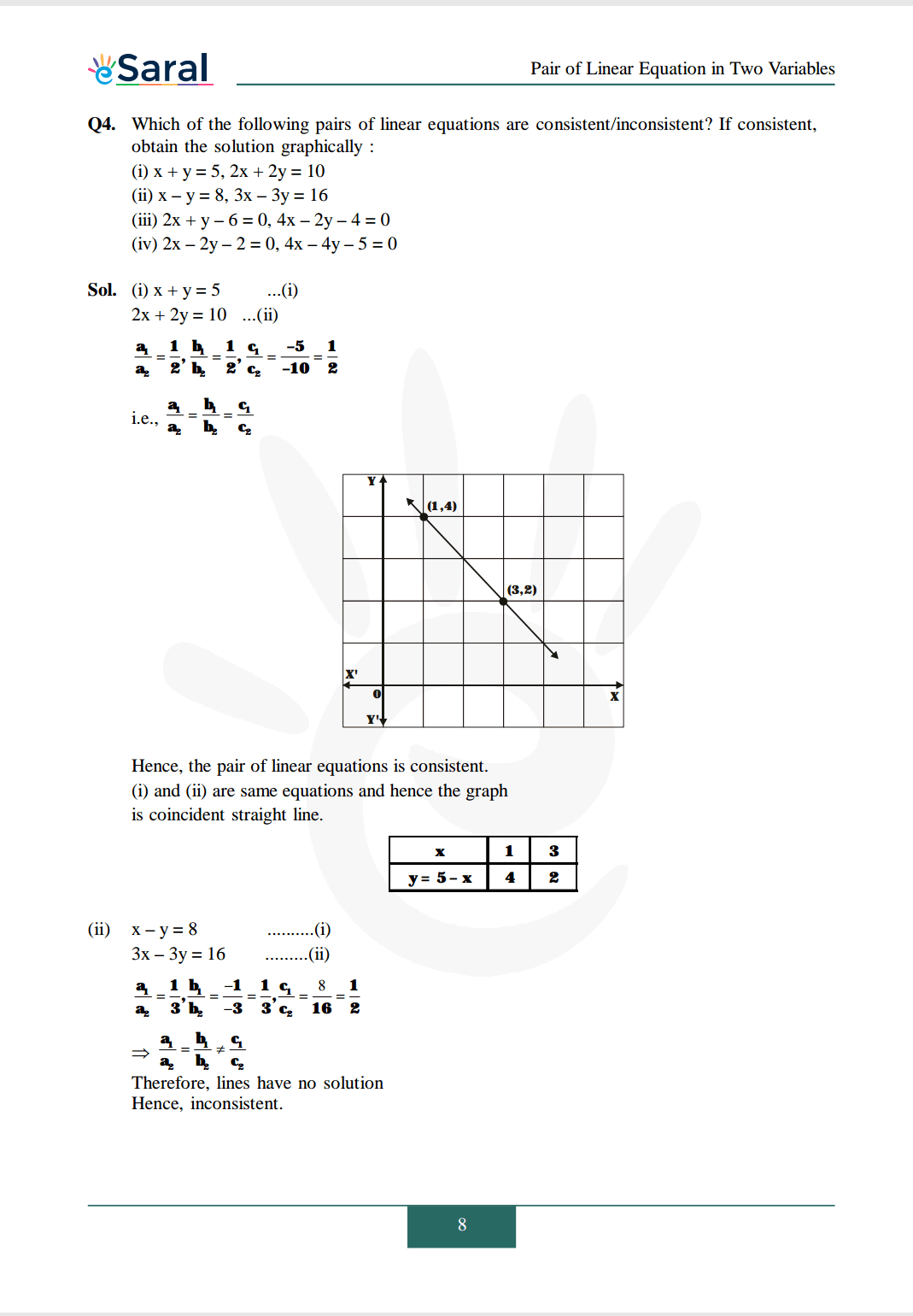 NCERT Solutions for Class 10 Maths chapter 3 Image 9