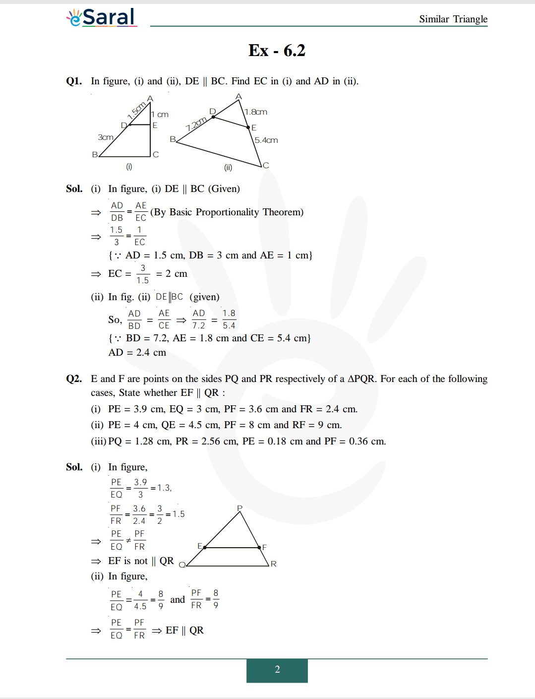 NCERT Solutions for Class 10 Maths chapter 6 Image 3