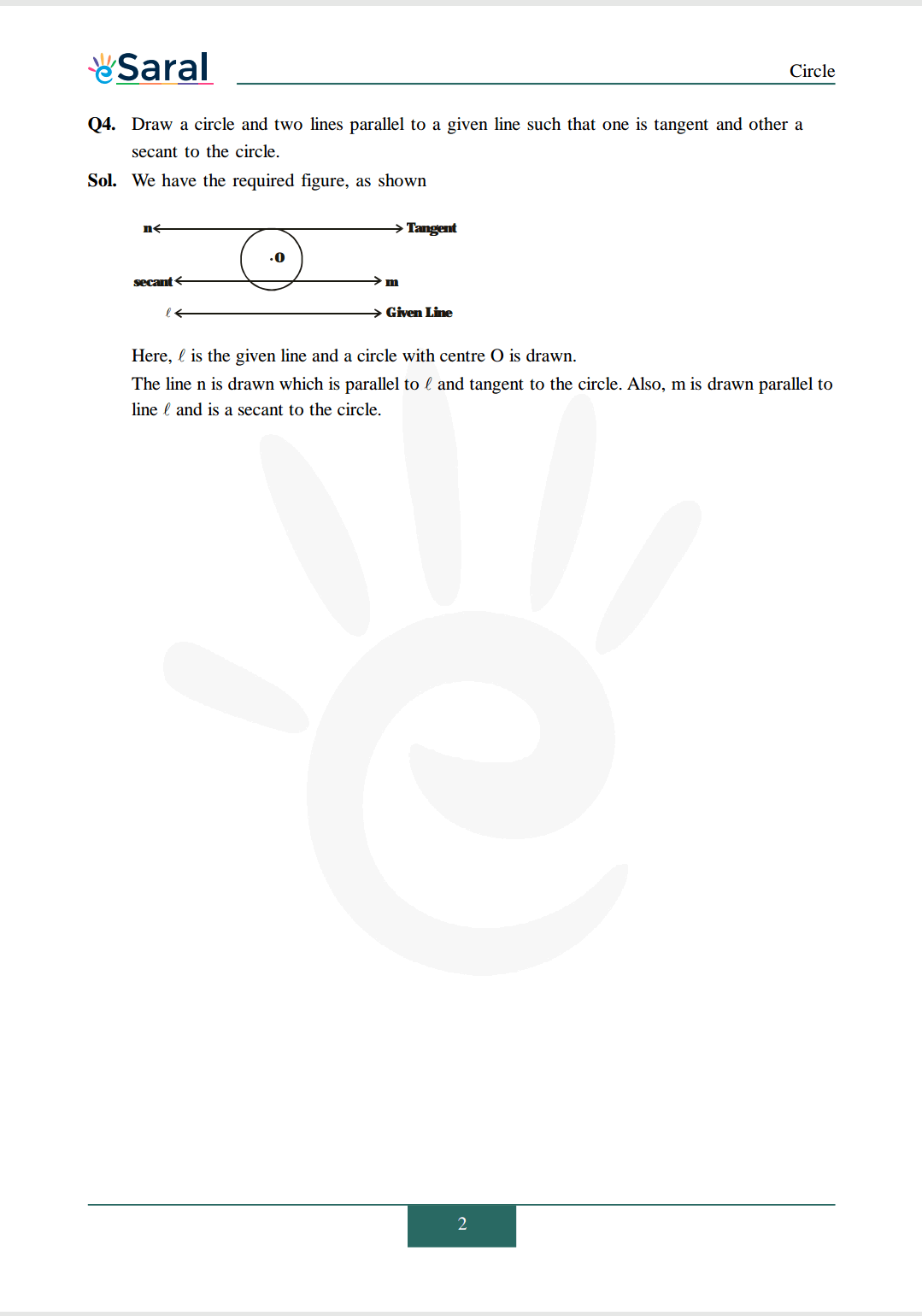 Class 10 Maths Chapter 10 exercise 10.1 solutions Image 2