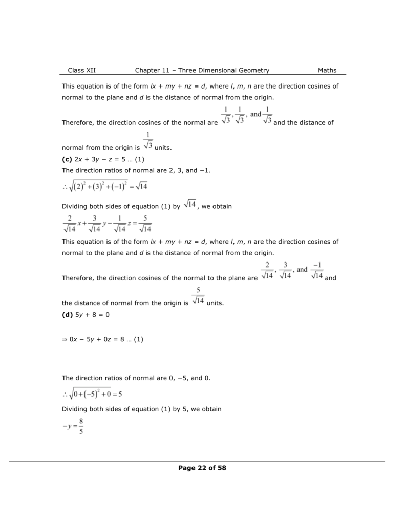NCERT Class 12 Maths Chapter 11 Exercise 11.3 Solutions Image 2