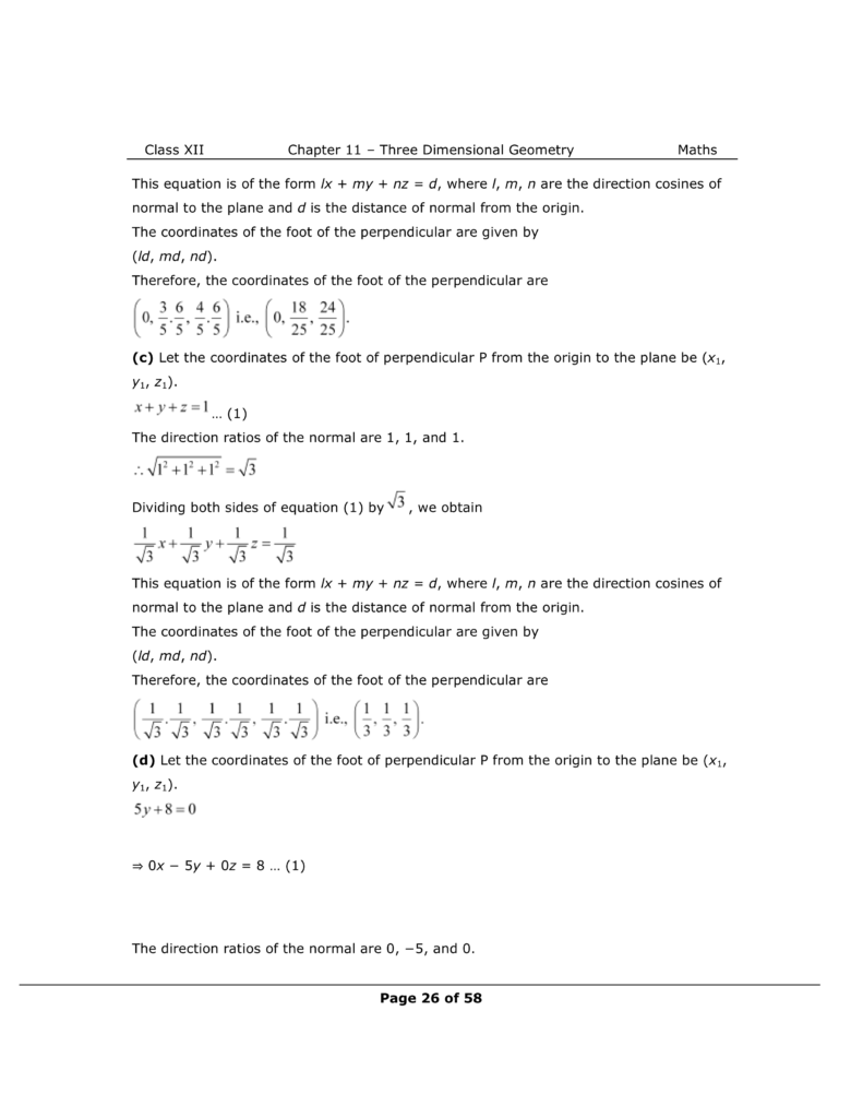 NCERT Class 12 Maths Chapter 11 Exercise 11.3 Solutions Image 6