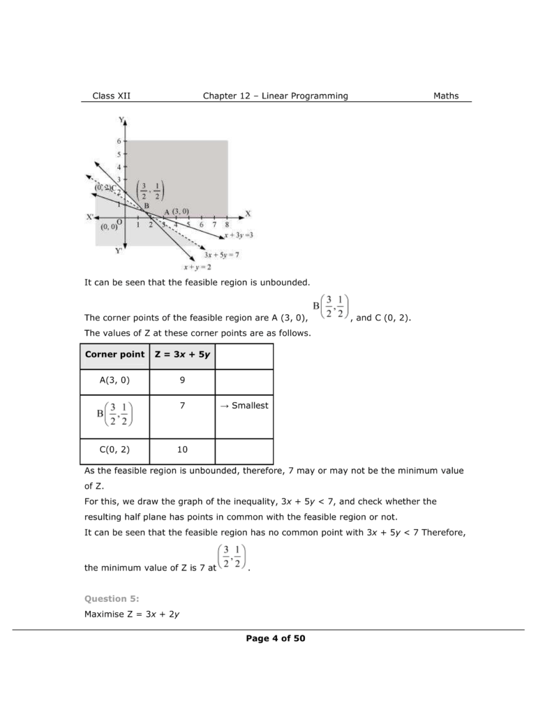 NCERT Class 12 Maths Chapter 12 Exercise 12.1 Solutions Image 4
