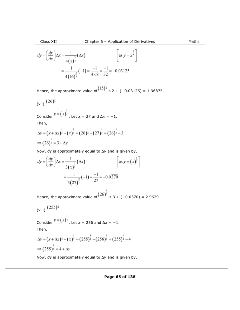 NCERT Class 12 Maths Chapter 6 Exercise 6.4 Solutions Image 4