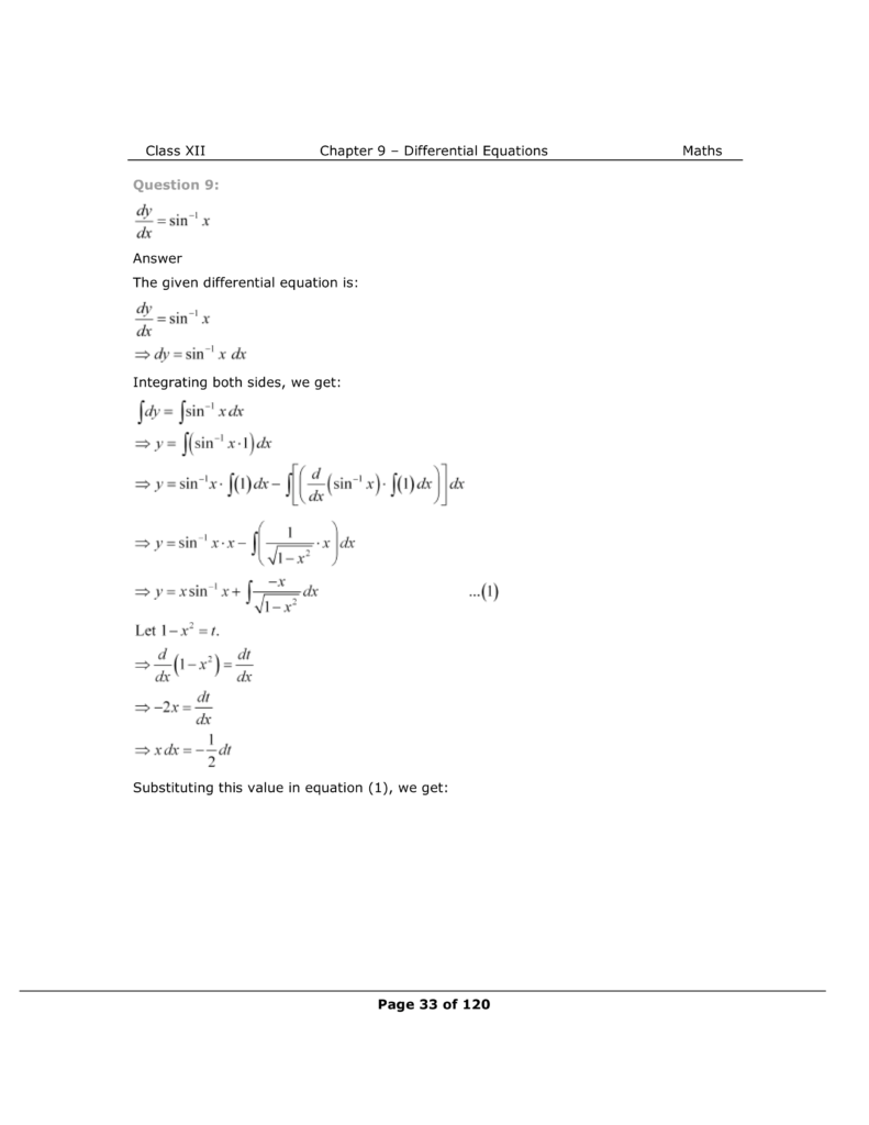 NCERT Class 12 Maths Chapter 9 Exercise 9.4 Solutions Image 8