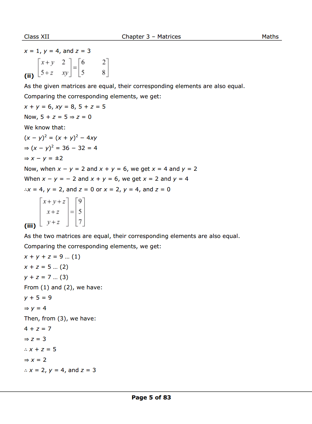 NCERT Solutions for Class 12 Maths chapter 3 Image 5